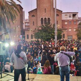 Actuació a La Sagrera (BCN)
