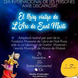Actuació al teatre Monumental de Mataró