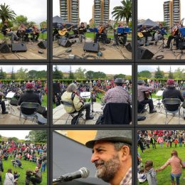 Actuació dels MANETES  a Girona