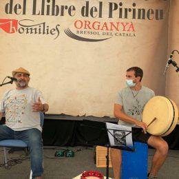 Actuació a la 24a Fira del Llibre del Pirineu d'Organyà