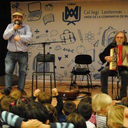 Actuació a l'escola Lestonnac de BCN