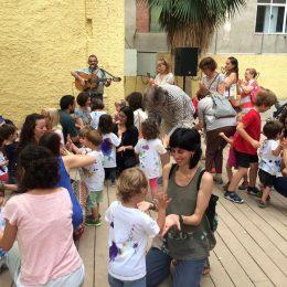 Actuació a l'Escola Bressol Sol Solet de Barcelona