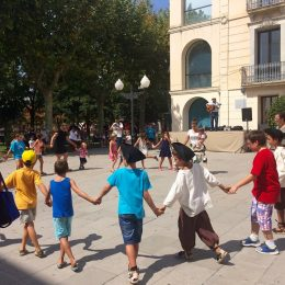 Actuació a la Festa dls Miquelets d'Olesa de Montserrat