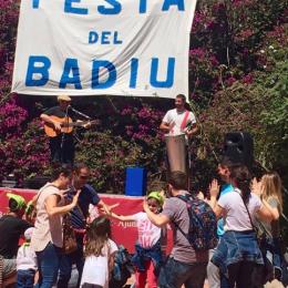 Noè Rivas a la festa del Badiu de Badalona